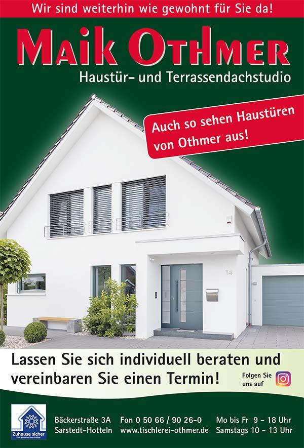 Haustürenwerbung November