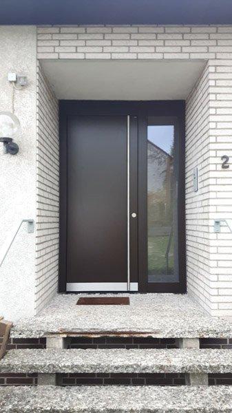 TOPIC, Haustür B9, Seitenteil, Übergröße, langer Stangengriff